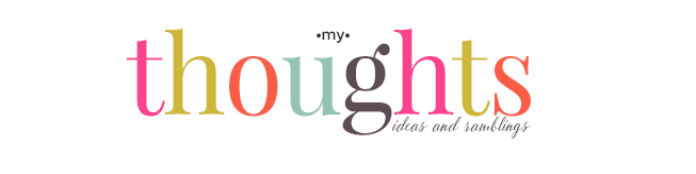 My Thoughts Ideas and Ramblings logo